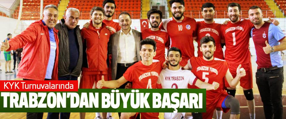 KYK Turnuvalarında Trabzon'dan Büyük Başarı