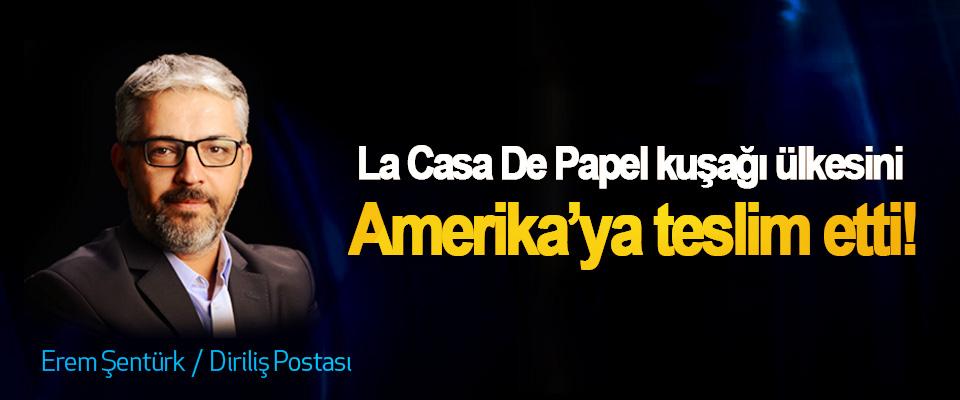 La Casa De Papel kuşağı ülkesini Amerika'ya teslim etti!