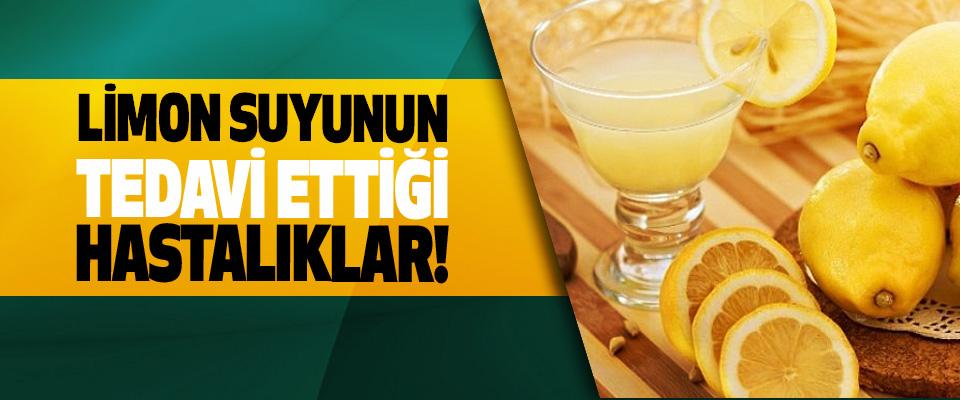 Limon suyunun tedavi ettiği hastalıklar!