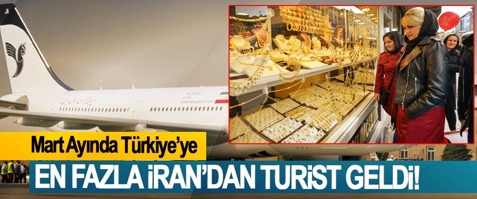 Mart Ayında Türkiye'ye En Fazla İran'dan Turist Geldi!