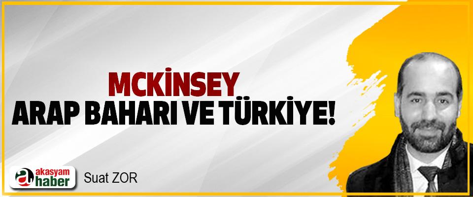Mckinsey, Arap Baharı Ve Türkiye!