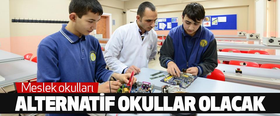 Meslek Okulları Alternatif Okullar Olacak