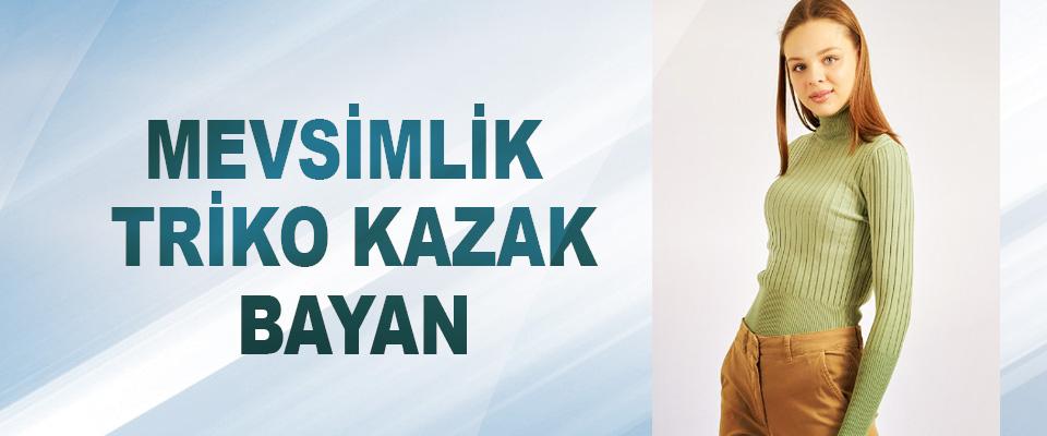 Mevsimlik Triko Kazak Bayan