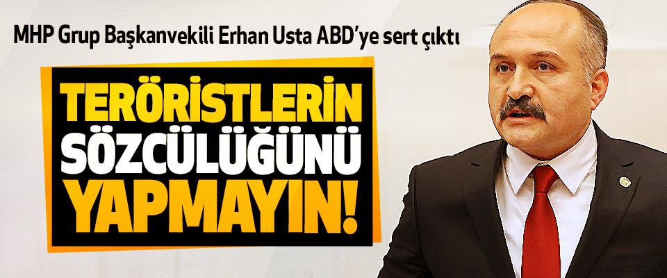 MHP Grup Başkanvekili Erhan Usta ABD'ye sert çıktı