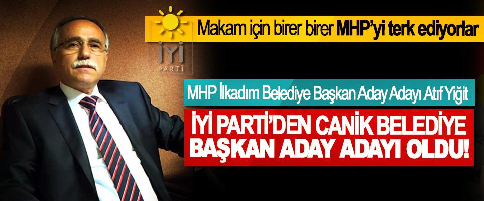 MHP İlkadım Belediye Başkan Aday Adayı Atıf Yiğit  İyi parti'den canik belediye başkan aday adayı oldu!