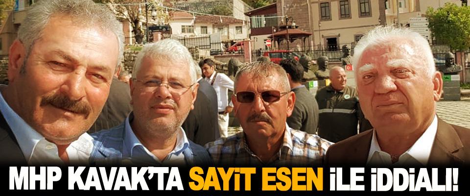 MHP Kavak'ta Sayit Esen İle İddialı!