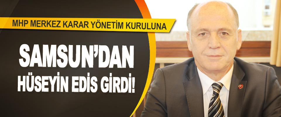 MHP Merkez Karar Yönetim Kuruluna Samsun'dan Hüseyin Edis Girdi!