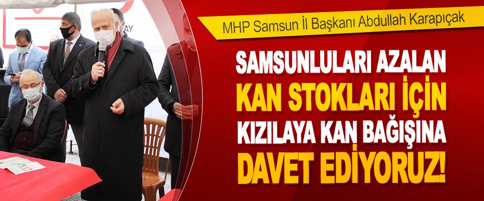 MHP Samsun İl Başkanı Abdullah Karapıçak