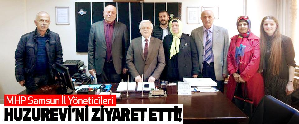 MHP Samsun İl Yöneticileri Huzurevi'ni Ziyaret Etti!