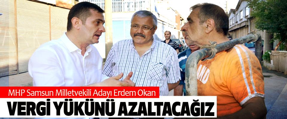 MHP Samsun Milletvekili Adayı Erdem Okan: Vergi Yükünü Azaltacağız