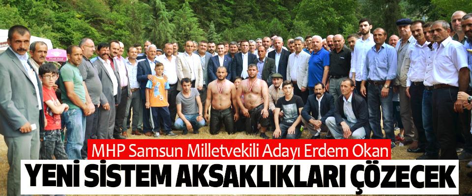 MHP Samsun Milletvekili Adayı Erdem Okan:Yeni Sistem Aksaklıkları Çözecek