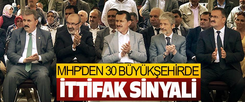MHP'den 30 Büyükşehirde İttifak Sinyali