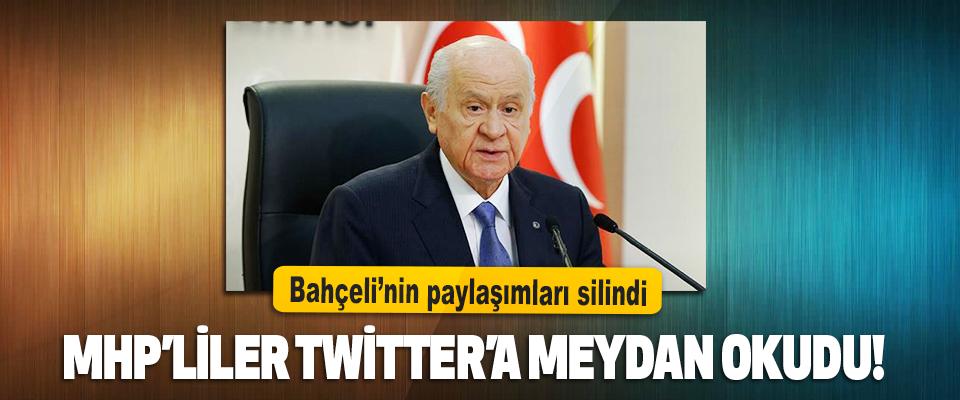 MHP'liler Twitter'a Meydan Okudu!