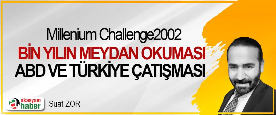 Millenium Challenge2002, Bin yılın meydan okuması; ABD ve Türkiye çatışması