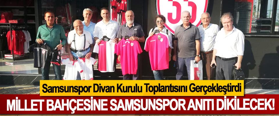 Millet bahçesine Samsunspor Anıtı dikilecek!