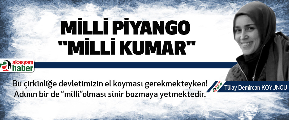 Milli piyango ;