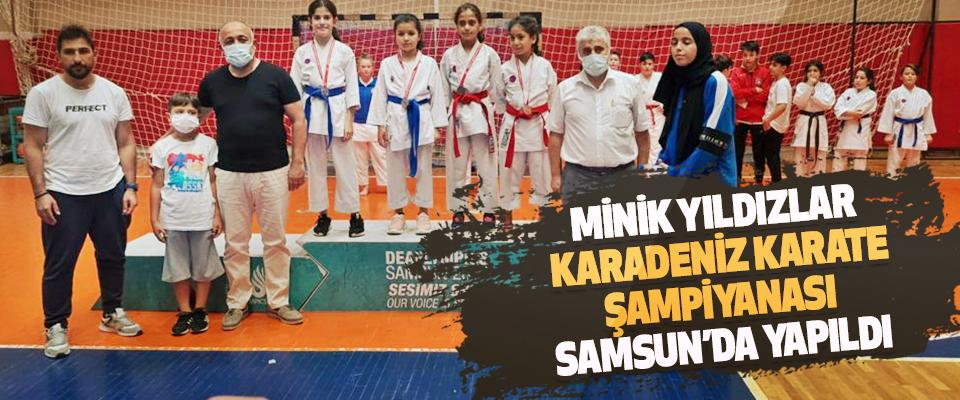 Minik Yıldızlar Karadeniz Karate Şampiyanası Samsun'da Yapıldı