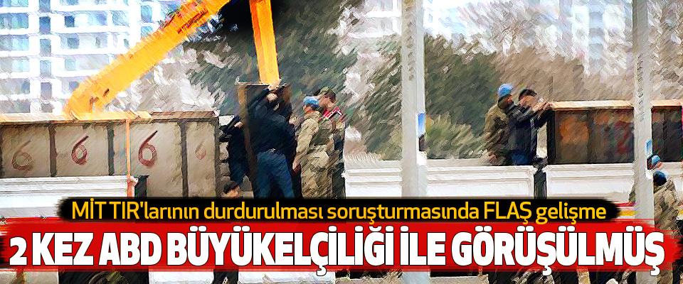 MİT TIR'larının durdurulması soruşturmasında FLAŞ gelişme