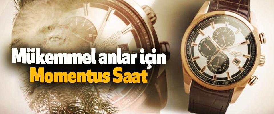 Mükemmel anlar için Momentus Saat