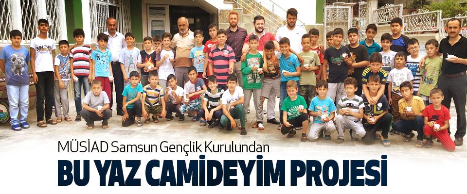 MÜSİAD Samsun Gençlik Kurulundan Bu Yaz Camideyim Projesi