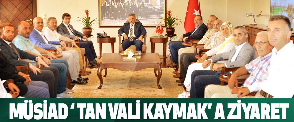 Müsiad ' Tan Samsun Valisi Osman Kaymak' A Ziyaret