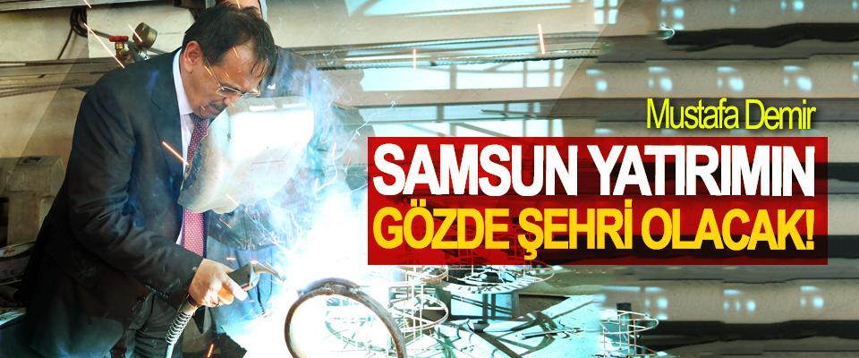 Mustafa Demir; Samsun Yatırımın Gözde Şehri Olacak!