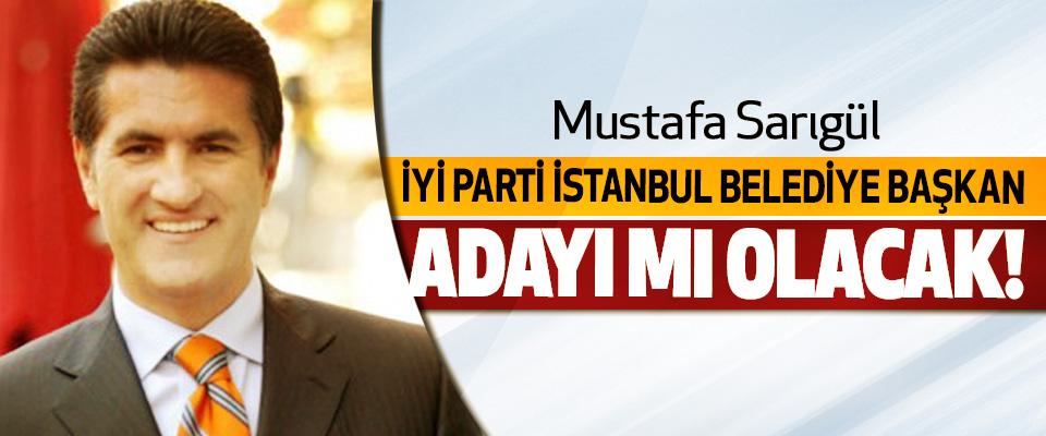Mustafa Sarıgül İyi Parti İstanbul Belediye Başkan Adayı mı Olacak!
