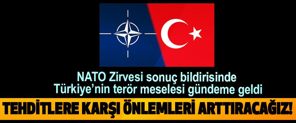 NATO Zirvesi sonuç bildirisinde Türkiye'nin terör meselesi gündeme geldi
