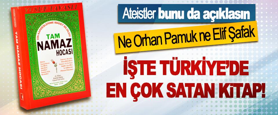 Ne Orhan Pamuk ne Elif Şafak İşte Türkiye'de en çok satan kitap!