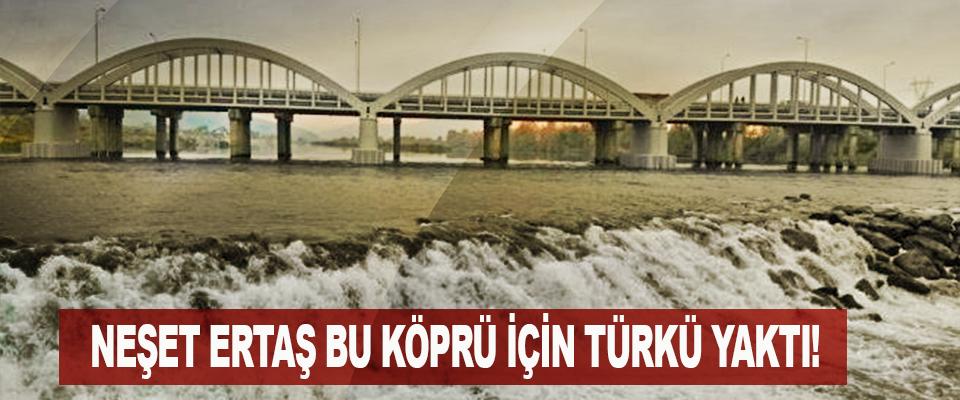 Neşet ertaş bu köprü için türkü yaktı!