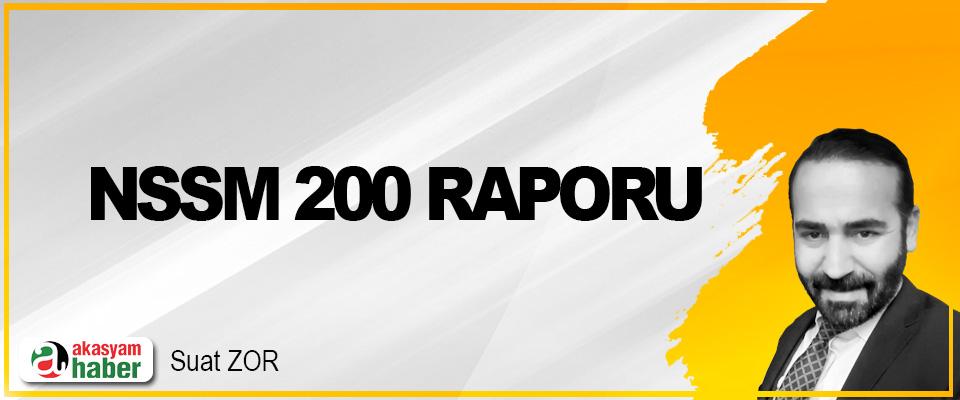 NSSM 200 Raporu