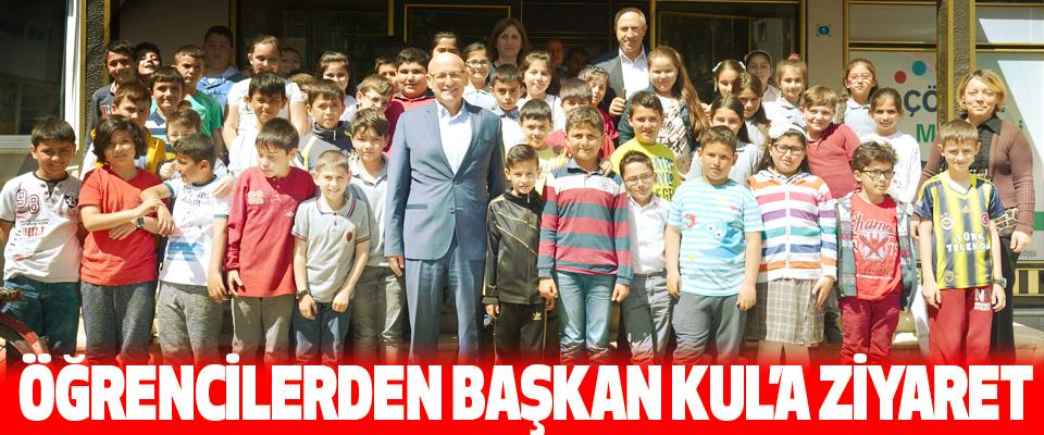 Öğrencilerden Başkan Kul'a Ziyaret
