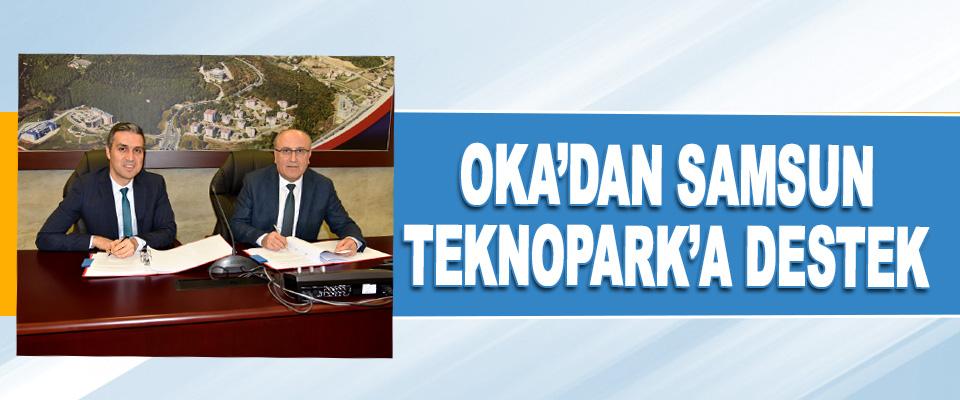 Oka'dan Samsun Teknopark'a Destek