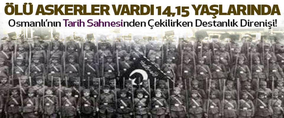 Ölü askerler vardı 14,15,16 yaşlarında…