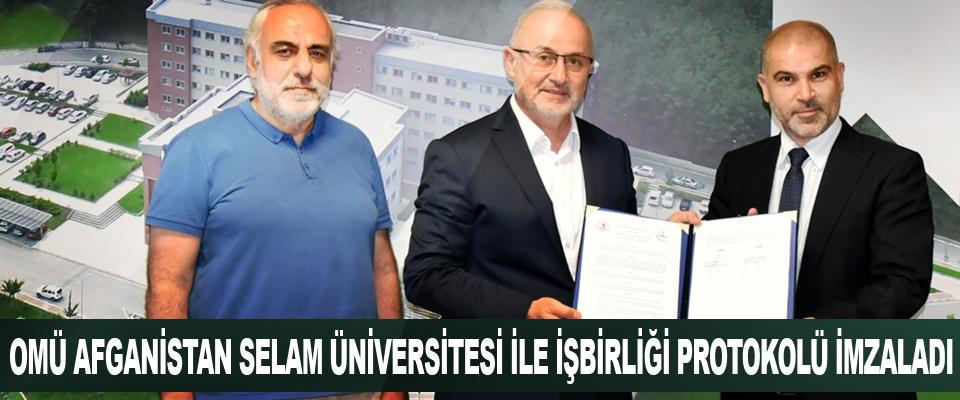 Omü Afganistan Selam Üniversitesi İle İşbirliği Protokolü İmzaladı
