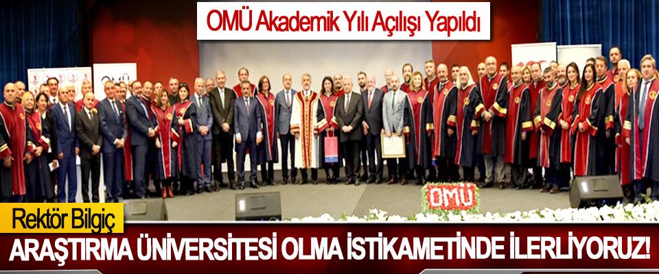 OMÜ Akademik Yılı Açılışı Yapıldı