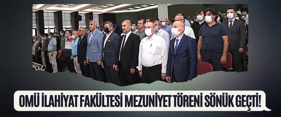 OMÜ İlahiyat Fakültesi Mezuniyet Töreni Sönük Geçti!