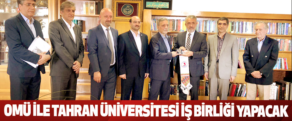 OMÜ İle Tahran Üniversitesi İş Birliği Yapacak