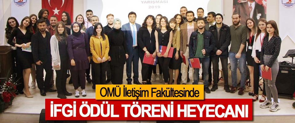 OMÜ İletişim Fakültesinde İFGİ Ödül Töreni Heyecanı