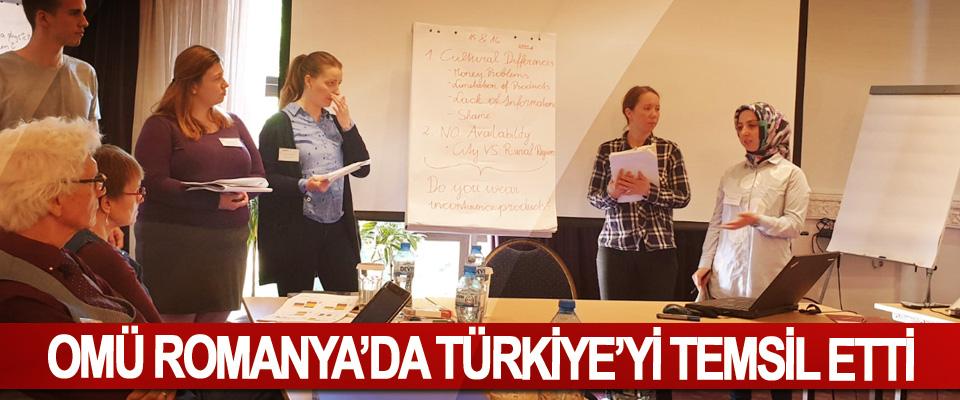 OMÜ Romanya'da Türkiye'yi Temsil Etti
