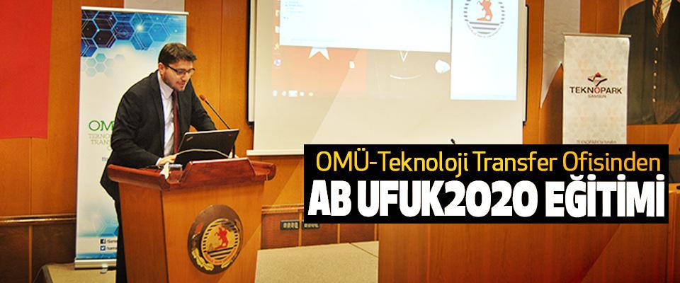 OMÜ-Teknoloji Transfer Ofisinden AB Ufuk2020 Eğitimi