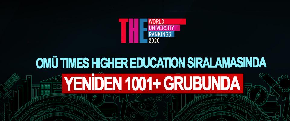 OMÜ Tımes Hıgher Educatıon Sıralamasında Yeniden 1001+ Grubunda
