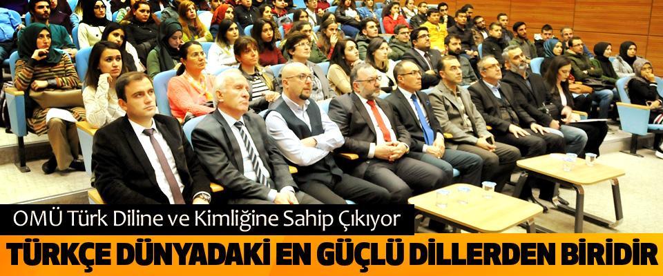 OMÜ Türk Diline ve Kimliğine Sahip Çıkıyor