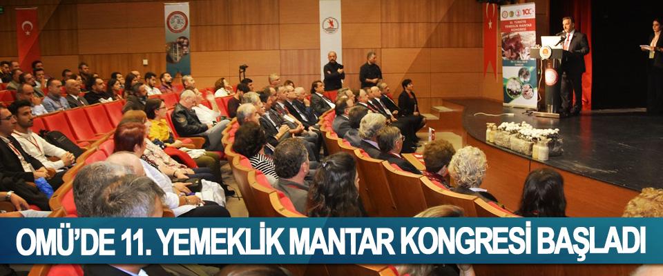 OMÜ'de 11. Yemeklik Mantar Kongresi Başladı