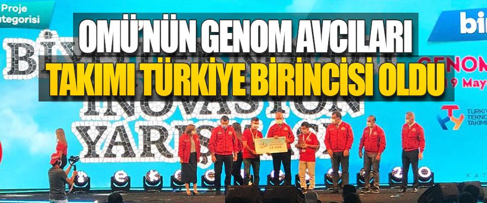 OMÜ'nün Genom Avcıları Takımı Türkiye Birincisi Oldu
