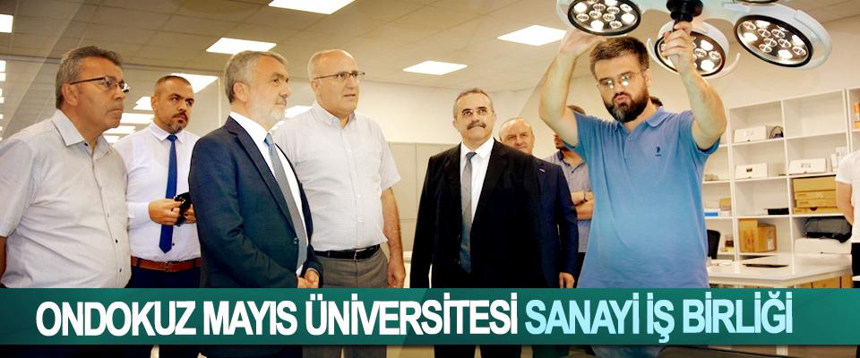Ondokuz Mayıs Üniversitesi Sanayi İş Birliği
