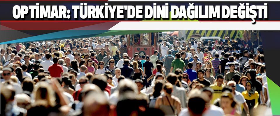 Optimar: Türkiye'de Dini Dağılım Değişti
