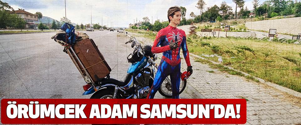 Örümcek Adam Samsun'da!