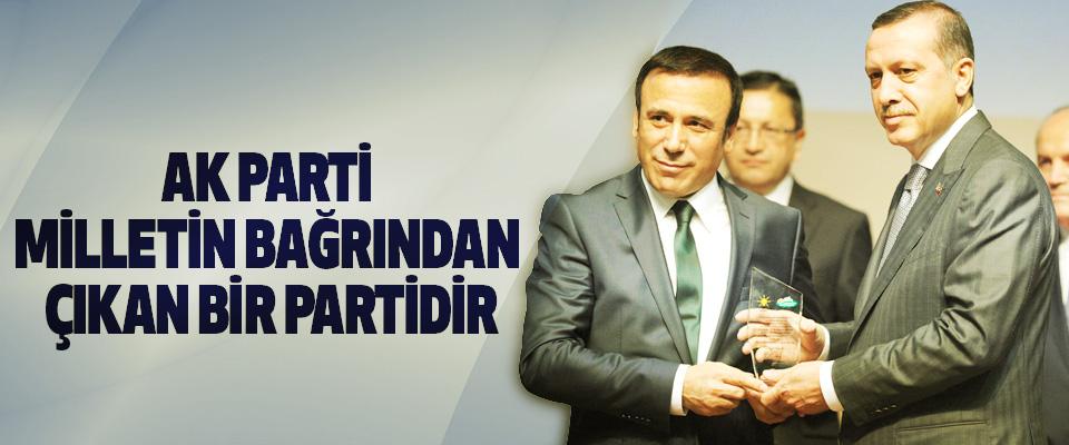 Osman Genç: Ak Parti Milletin Bağrından Çıkan Bir Partidir