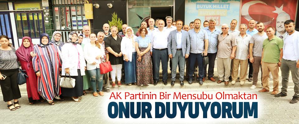 Osman Genç AK Partinin Bir Mensubu Olmaktan onur duyuyorum